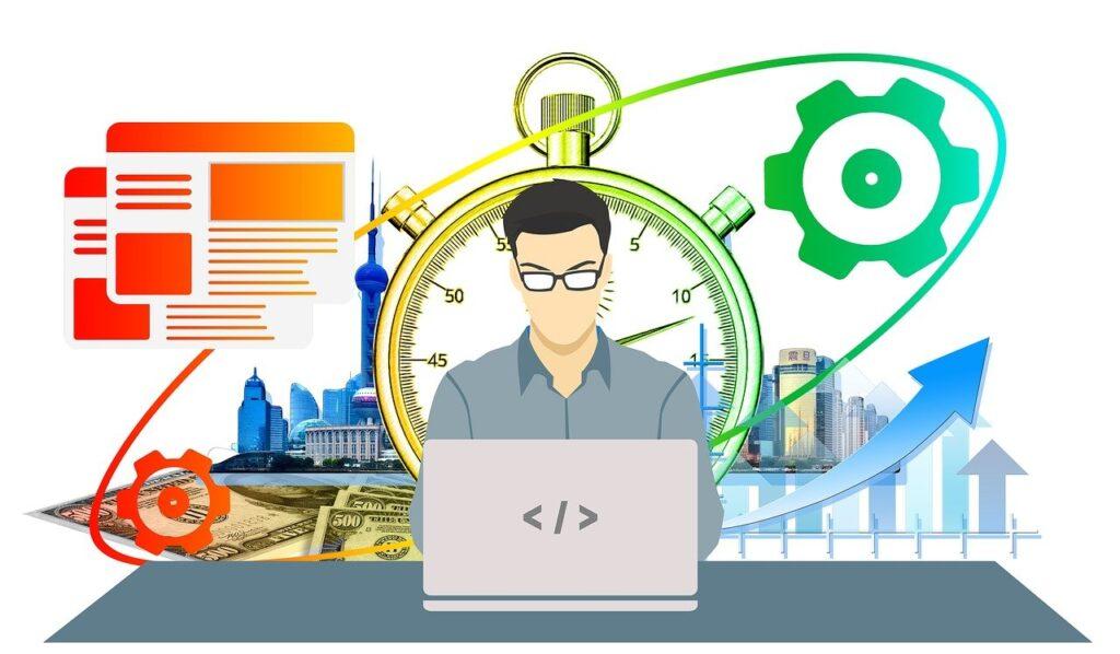 productivity, work, businessman