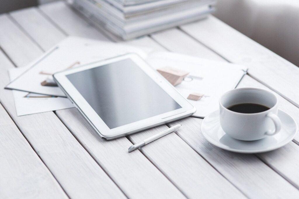 tablet, digital, technology
