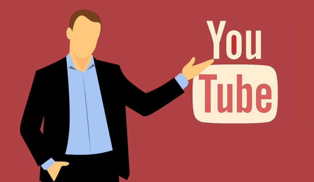 youtube icon, logo youtube, social media